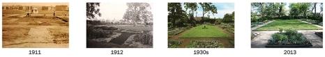 Stenton Colonial Revival Garden, 1911-2013