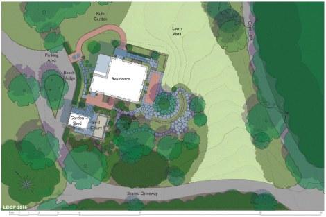 Landscape Plan Illust