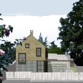 Cottage Street elevation
