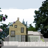 Cottage Street elevation